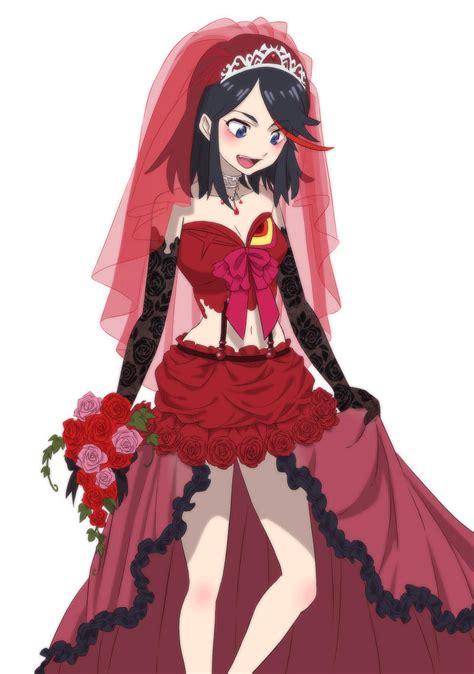 ryukos true wedding dress kill la kill   meme