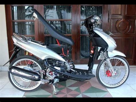 Modifikasi Mio Sporty Jari Jari by Tm2 Modifikasi Motor Yamaha Mio Sporty Velg Jari