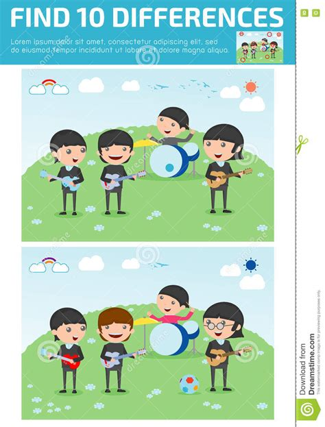 find differences for find differences brain 173 | find differences game kids find differences brain games children game educational preschool four 73233664