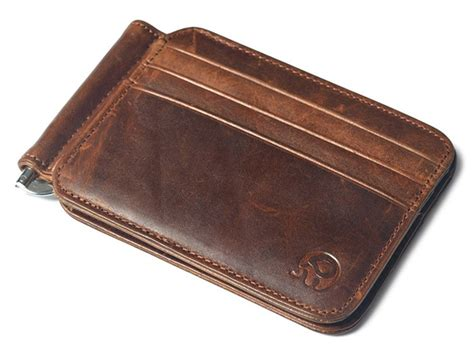 Wiki researchers have been writing reviews of the latest money clip wallets we also removed the kinzd front pocket, noting multiple reports that its strong magnet frequently demagnetizes the strip on credit cards and transit. Mignova - Mignova Men's Leather Slim Spring Money Clip Wallet Front Pocket Credit Card Case ...