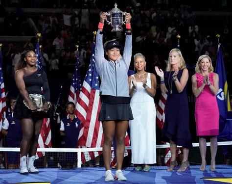 serena williams outburst naomi osaka wins  open final   controversial tennis match