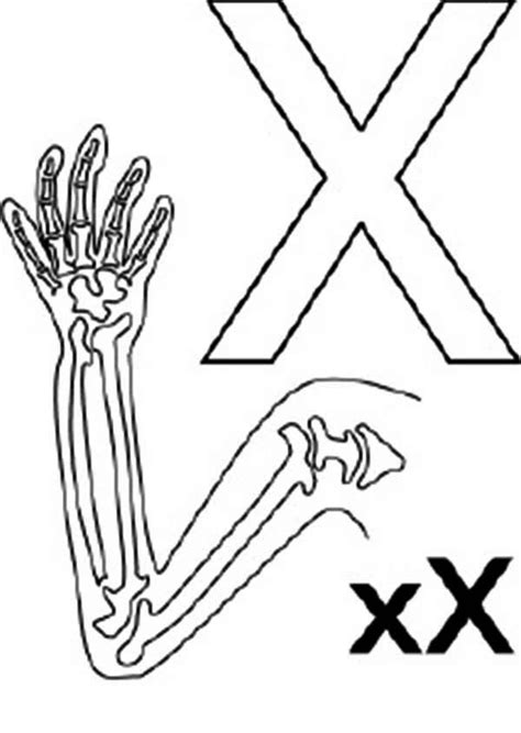 X For Coloring by X Coloring Pages Coloring Home