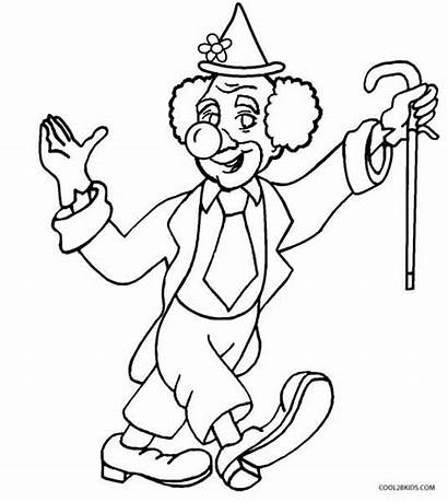 Clown Coloring Pages Cool2bkids Printable