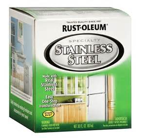Stainless Steel Look Appliance Paint