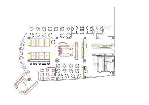 cuisine autocad fast food restaurant 2d dwg plan for autocad designscad