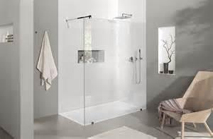 reuter badezimmer bodentiefe dusche ohne glas begehbare dusche bis m einbaufertig mit kerlite belegt