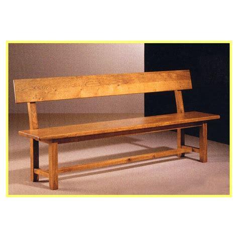 banc de cuisine en bois plan banc en bois avec dossier obasinc com