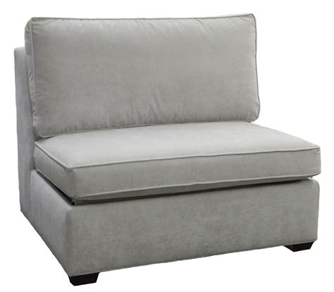 sectional armless single sleeper sofa carolina chair
