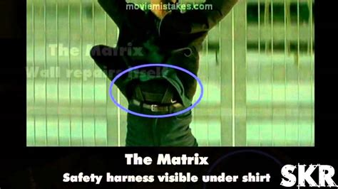 Movie Mistakes The Matrix (1999) Youtube
