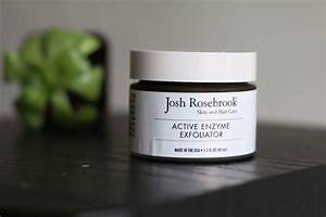 Skin Care Review  Josh Rosebrook Enzyme Exfoliator