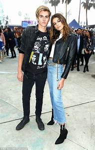 Kaia and Presley Gerber at Tommyland runway show in LA