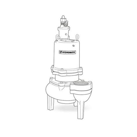 hydromatic hydromatic s4h200m4 6 submersible solids handling 2 0 hp 460v 3ph manual
