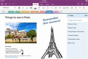 Microsoft Onenote For Ipad Adds Handwriting Feature
