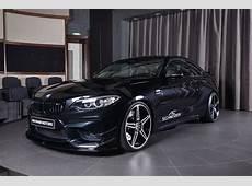 Sapphire Black BMW M2 Gets AC Schnitzer Kit in Abu Dhabi