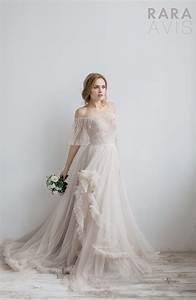 dreamy romantic rara avis wedding bloom collection rara With rara avis wedding dress