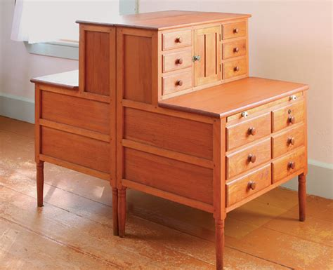 shaker furniture plans finewoodworking