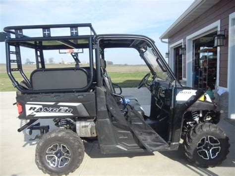 2015 Polaris Ranger 900xp With Roll Cage, Accessory Rack