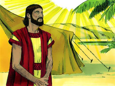 freebibleimages abram abraham moves  canaan