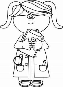 clipart black and white doctor Clipground
