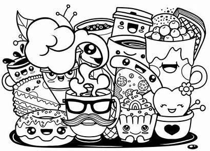 Doodle Cartoon Funny Coffee Cup Premium Doodles