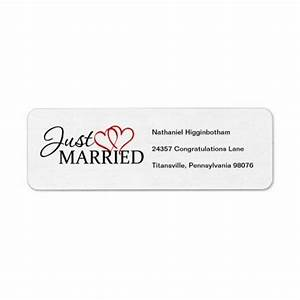 17 best just married return address labels images on With best price return address labels