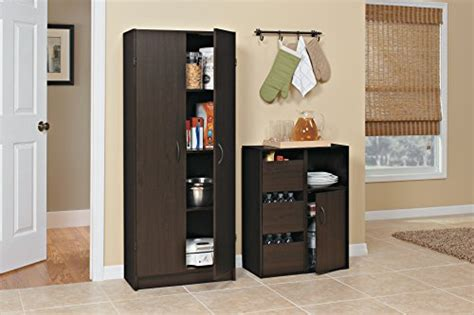 kitchen dishwasher cabinet closetmaid 1556 pantry cabinet espresso import it all 1556