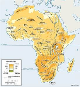 Senegal Basin: physiographic regions of Africa - Students ...