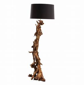 ashland gold leaf dragon mangrove global tree root floor lamp With tree scene floor lamp