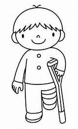 Coloring Kleurplaten Picasa Pages Thema Preschool Juan San Sick Ziek Zijn Doctor Boy Theme Printables Knutselen Van Schoolkinderen Muurschilderingen Vervoer sketch template