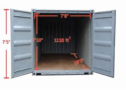 Container 20ft Containers Dimensions Ft Inside Inner