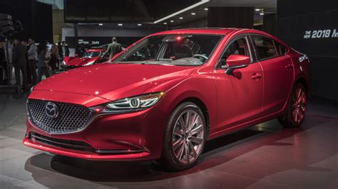 2018 Mazda Mazda6 A New Engine, Nvh Reductions And A