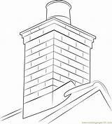 Chimney Coloring Masonry Pages Roof Colouring Drawing Printable Template Sketch Getcolorings Coloringpages101 Getdrawings sketch template