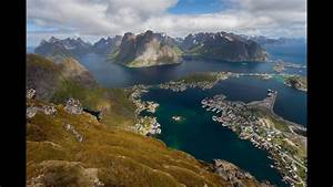 Amazing View From Reinebringen In Lofoten  Norway
