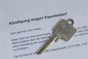 Kündigungsschreiben Wohnung Mieter : eigenbedarfsk ndigung muster f r vermieter ~ Lizthompson.info Haus und Dekorationen
