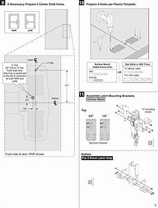 Von Duprin 23970734 G 98  9949 Metal Door Installation