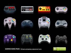 Iconos Controles De Consolas 8 Bit Otaku