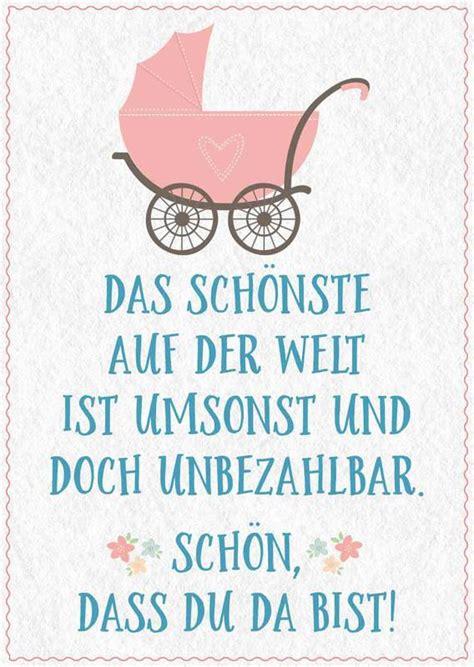 Lustige Babykarte Mit Kinderwagen Und Spruch Zur Geburt