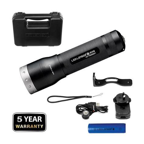 le torche tactique rechargeable de marque led lenser rechargeable par secteur ou usb