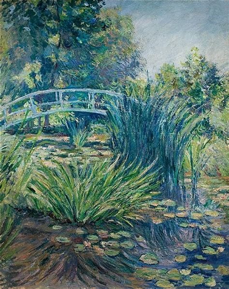 Jardin De Giverny Canvas by Blanche Hosched 233 Monet Works On Sale At Auction