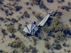 Virgin Galactic's SpaceShipTwo Crashes in Test Flight, 1 ...