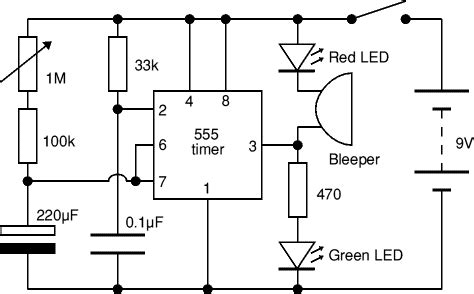 Electronic Circuits Diagram Timer Circuit
