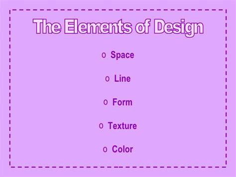 elements of interior design slideshare elements principles of interior design
