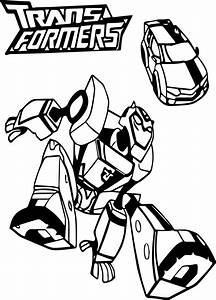 Bumblebee Car Transformers Coloring Page | Wecoloringpage