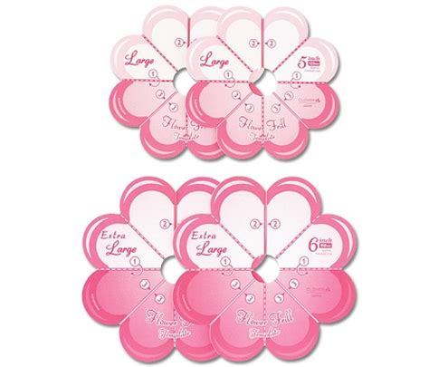 Clover Templates Flowers by Clover Flower Frill Templates