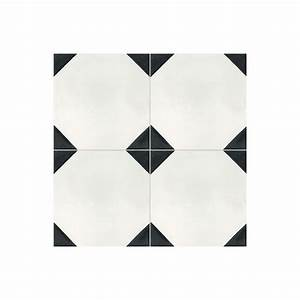 Carreaux De Ciment Noir Et Blanc : carreaux de ciment noir et blanc affordable carreau ~ Dailycaller-alerts.com Idées de Décoration