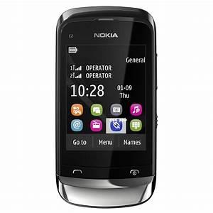 Nokia C2-03 Chrome Black