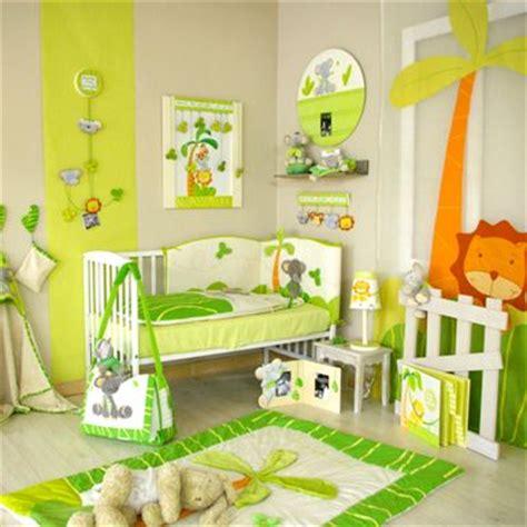 chambre bébé jungle décoration chambre bébé jungle