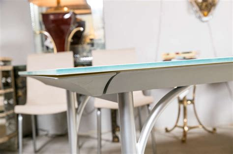 Roche Bobois Dining Table With Extendable Leave At 1stdibs