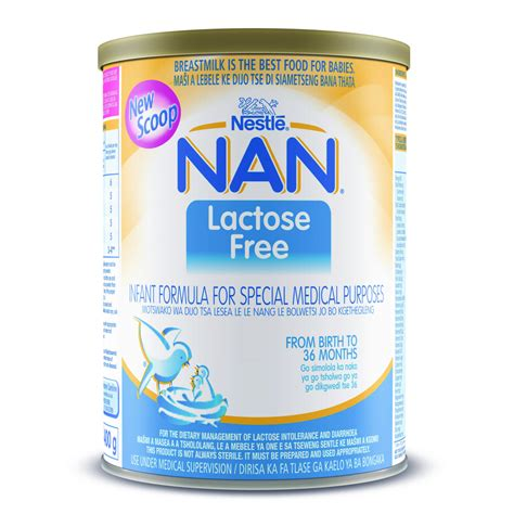 Nestle Nan Lactose Free Scoop 12 X 400g Lowest Prices
