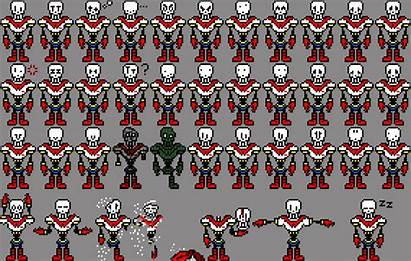 Sprite Papyrus Undertale Person Sprites Pixel Remixed